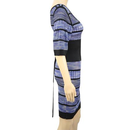 Karen Millen Striped knit dress