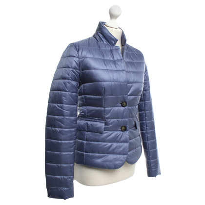 Closed Steppjacke in Blau/Lila