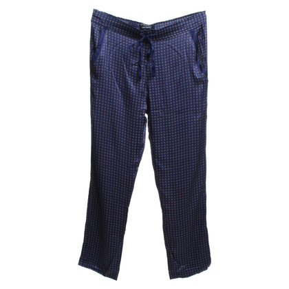 Maison Scotch trousers in pajama style