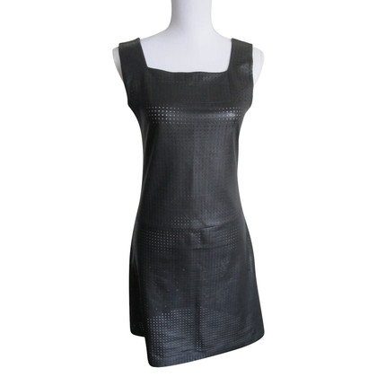 Iceberg Black leather dress.