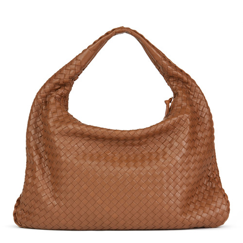 Bottega Veneta Borsa a tracolla in Pelle in Marrone - Second hand ... 49f7588085e