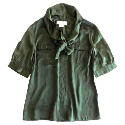 Michael Kors Silk shirt with bow