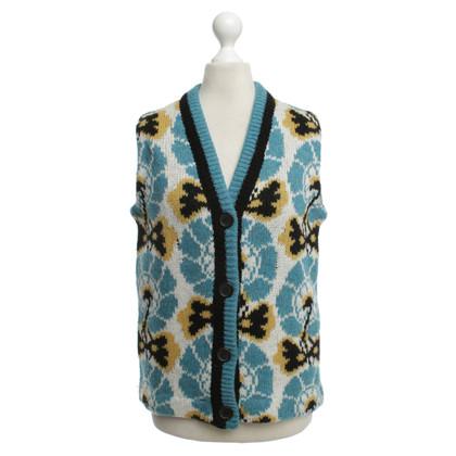 Miu Miu Gebreide vest patroon