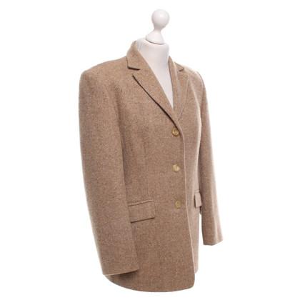 Windsor Cashmere blazer in lichtbruin