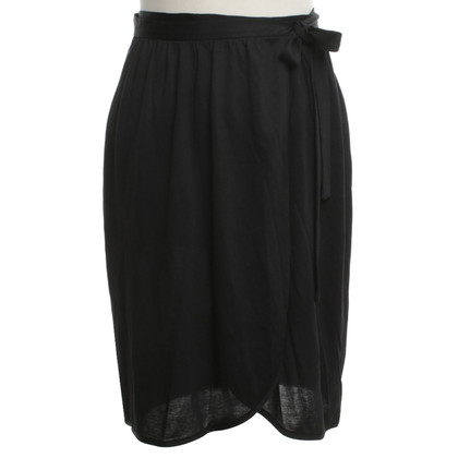 Maison Martin Margiela Wrap skirt in black