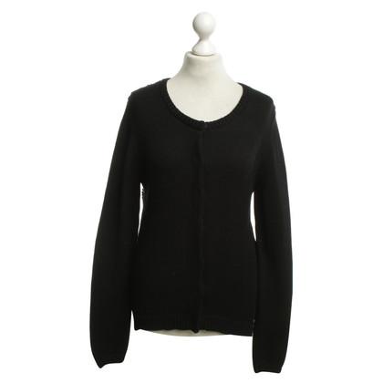Dear Cashmere Vest in zwart