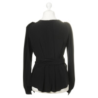 Tom Ford Wrap blouse in black