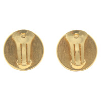 Gianni Versace Goldfarbene Ohrclips
