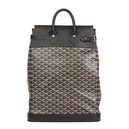 93c0251bfc Goyard Travel bag Canvas in Black - Second Hand Goyard Travel bag ...