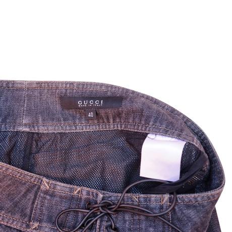 Offizielle Seite Verkauf Online Billig Bester Ort Gucci Jeansrock Grau  Wie Viel Billig Verkauf Angebote oYWeYUYYW