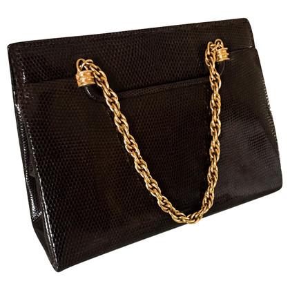 Gucci Lizard Leather Handbag