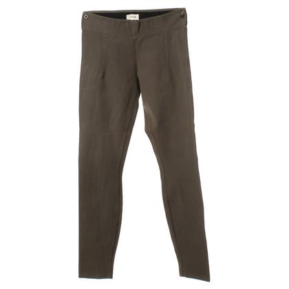 Helmut Lang Elastic pants in khaki