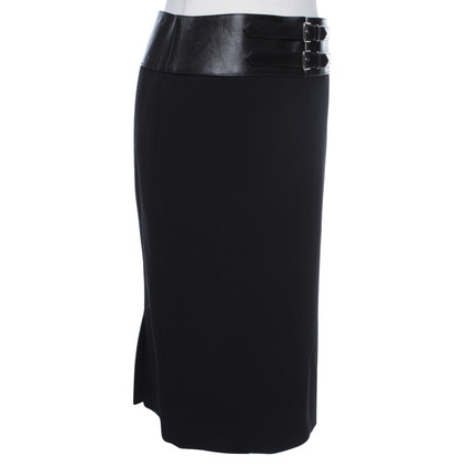 Ralph Lauren skirt with leather waistband