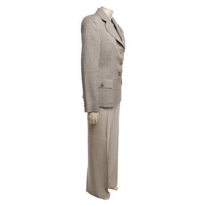 Armani Collezioni Pantsuit in grijs / beige