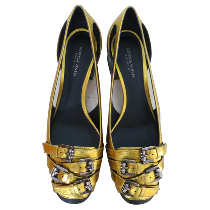 Bottega Veneta  Loafer in goud