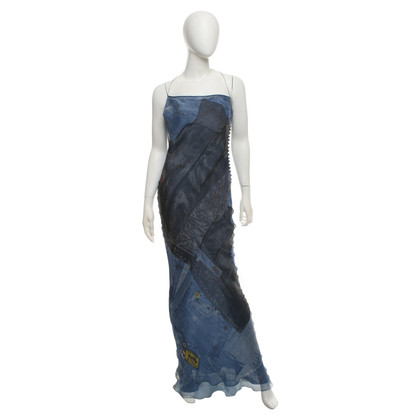 Christian Dior Summer dress with jeans motif