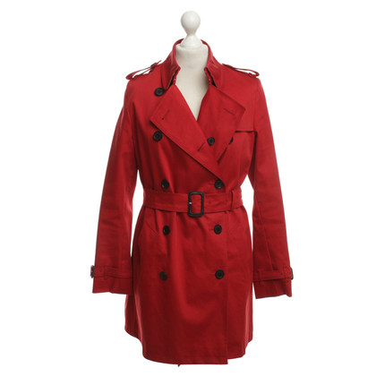 Burberry Trenchcoat in Rot