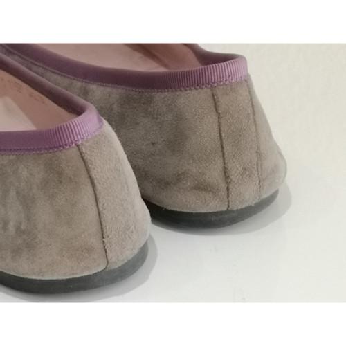 new style dfac8 83267 Pretty Ballerinas Slipper/Ballerinas aus Wildleder in Grau ...