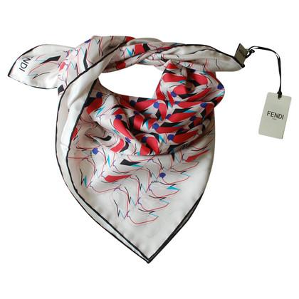 Fendi sciarpa di seta