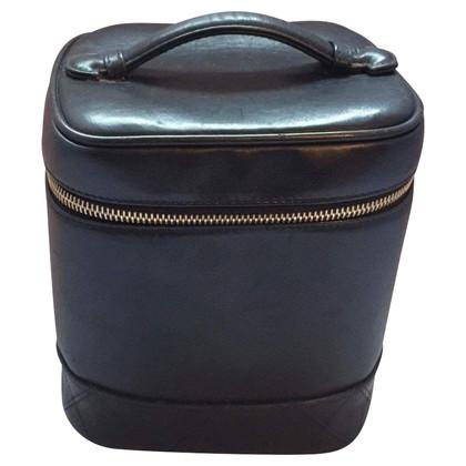 Chanel Vanity geval in zwart