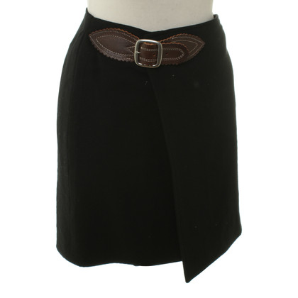 Ralph Lauren Wrap skirt in black