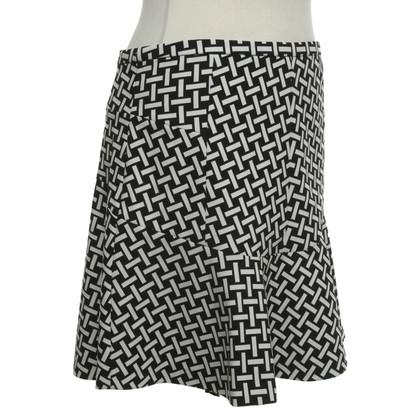 Diane von Furstenberg skirt with pattern