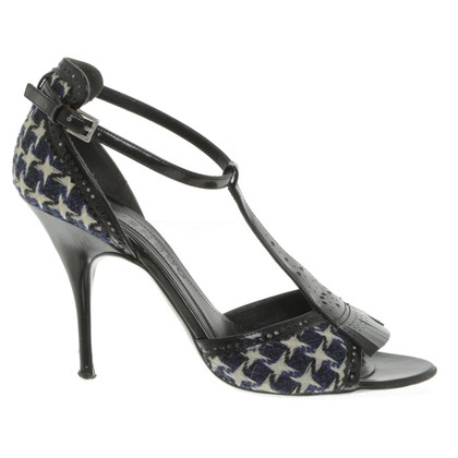 Givenchy Sandals with houndstooth pattern