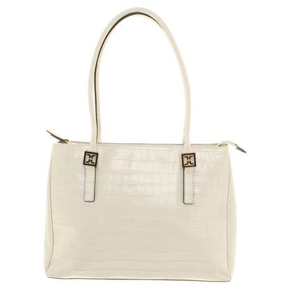 Coccinelle Shoulder Bag in bianco