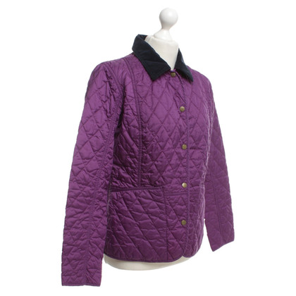 Barbour Quilted jacket with violet