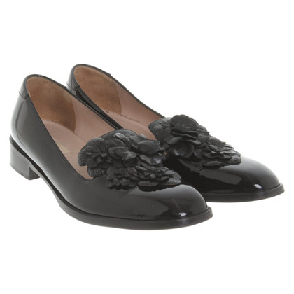 Valentino Slipper in black