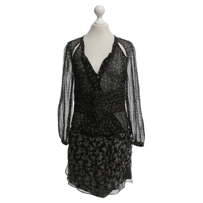 Isabel Marant Etoile Dress in black and white