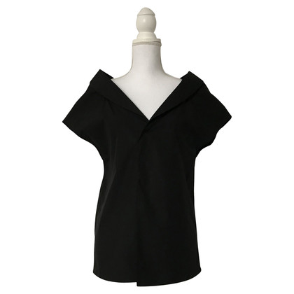 Maison Martin Margiela top in black