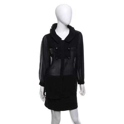 Fendi Silk blouse with tuck
