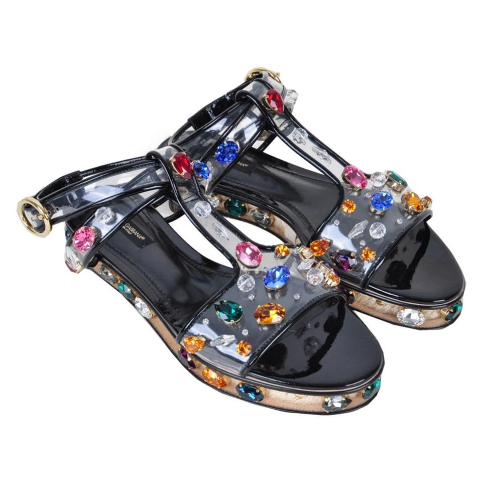 Dolce & Gabbana Sandals in black