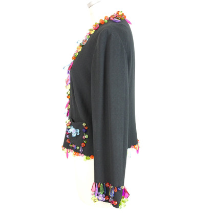 Moschino Moschino jacket gems multicolored