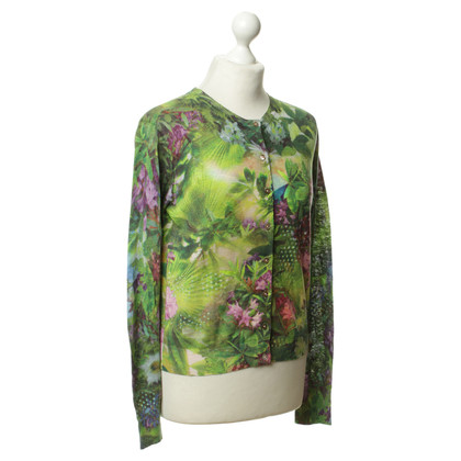 Paul Smith Cardigan with a floral pattern
