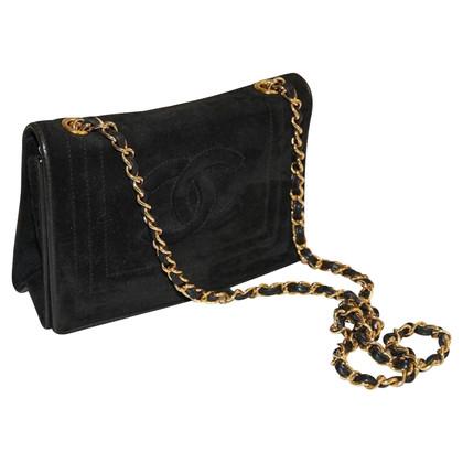 Chanel Evening Bag black suede