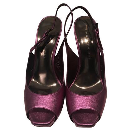 Barbara Bui Slingback peep toes