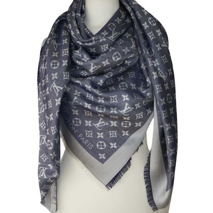 Louis Vuitton Monogram denim cloth in blue