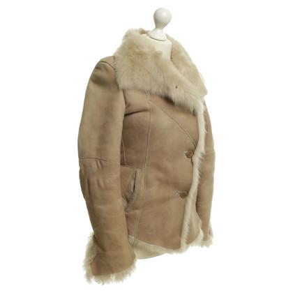 Autres marques GMS-75 - Veste en peau de mouton