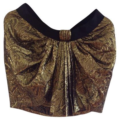 Isabel Marant Gouden mini rok