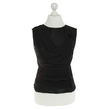 Dolce & Gabbana Silk top in black