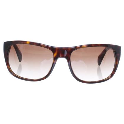 Prada Rechthoekige zonnebril