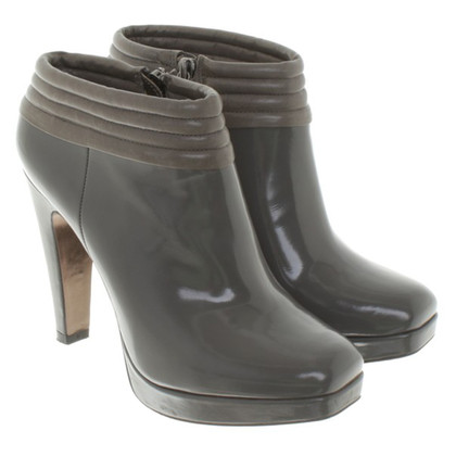 Hugo Boss Ankle Boots in Gray