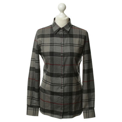Barbour Shirt met Plaid