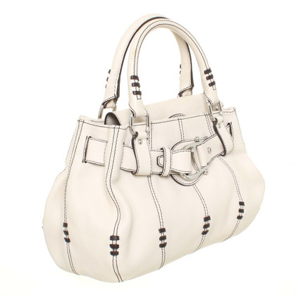 Aigner Hand bag with decorative stitching