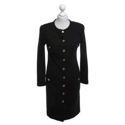 Chanel Coat in black