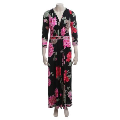 Leonard Florales Kleid aus Seide
