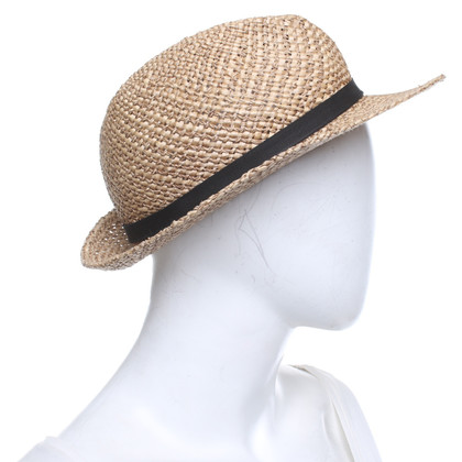 Patrizia Pepe Hat made of straw