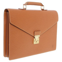 Louis Vuitton Brown EPI leather Briefcase